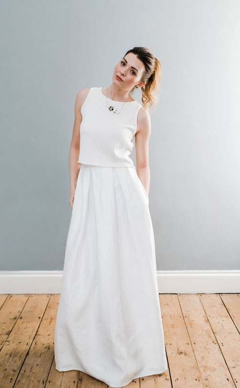 CoopCouture wedding separates