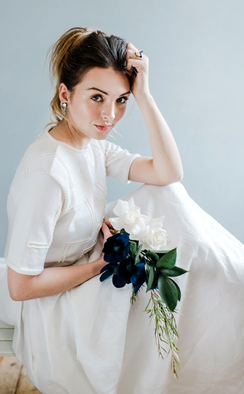 CoopCouture modern bride